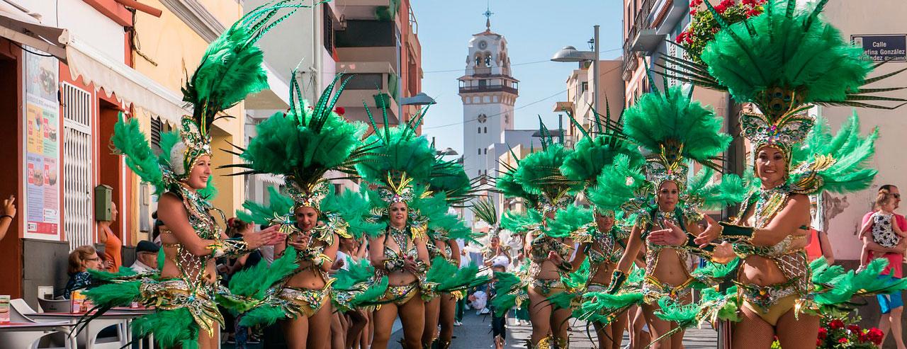 Tenerife Carnival in Santa Cruz